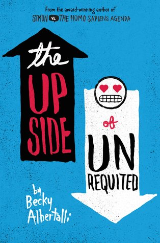 April new read, book, novel, The Upside of Unrequited, Becky Albertalli, Travelling Book Junkie