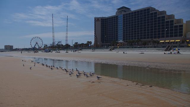Sunrise, Daytona Beach, Florida, America, USA, Travel, Travelling Book Junkie