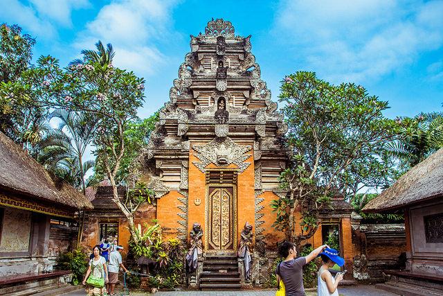 Palace, Ubud, Bali, Indonesia, Travel, Travelling Book Junkie