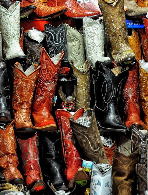 Cowboy boots, El Paso, Texas, America, Travel, Travelling Book Junkie