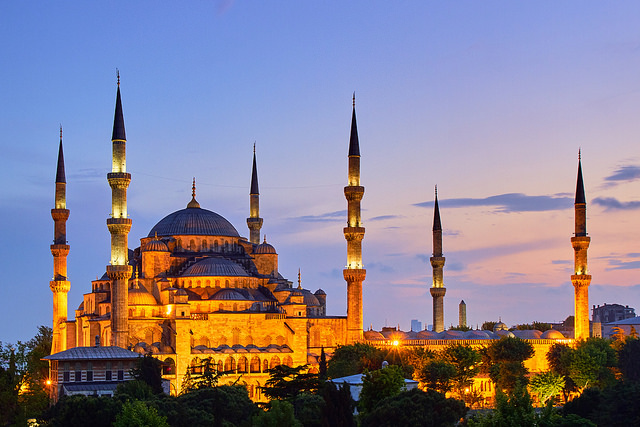 Exotic Places, Istanbul Blue Mosque
