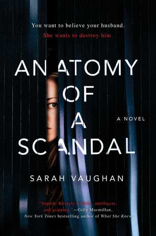 January 2018, Anatomy of a Scandal, Novel, book
