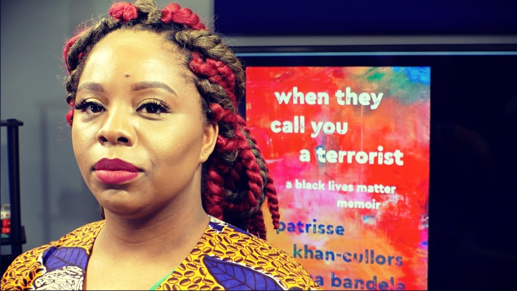 Profile photo of Patrisse Khan-Cullors author of When They Call You a Terrorist and co-founder of the Black Lives Matter Movement