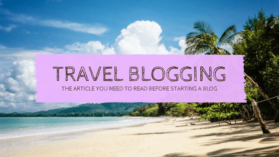 Travel blogger, travel blogging, professional travel blogger, life of a travel blogger