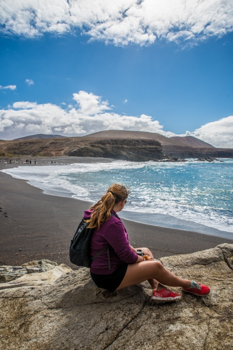 fuerteventura, holiday gems, family holidays, canary islands, volcanic beaches, beaches, ajuy caves, windsurfing,