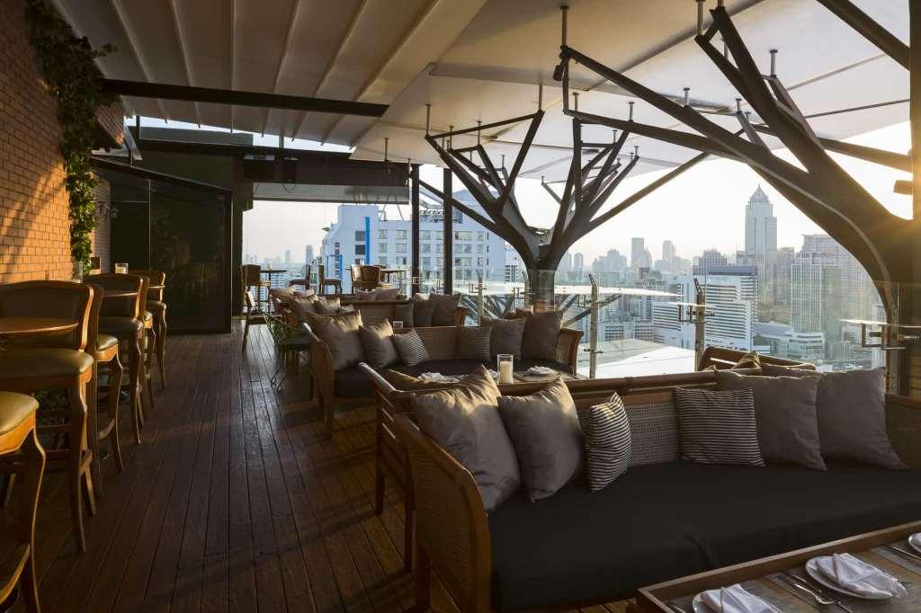 Rooftop bars, Bangkok, Thailand, Above Eleven