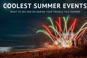 Coolest summer events 2018