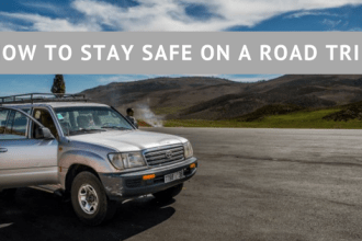 How to stay safe on a road trip, road safety, car journeys