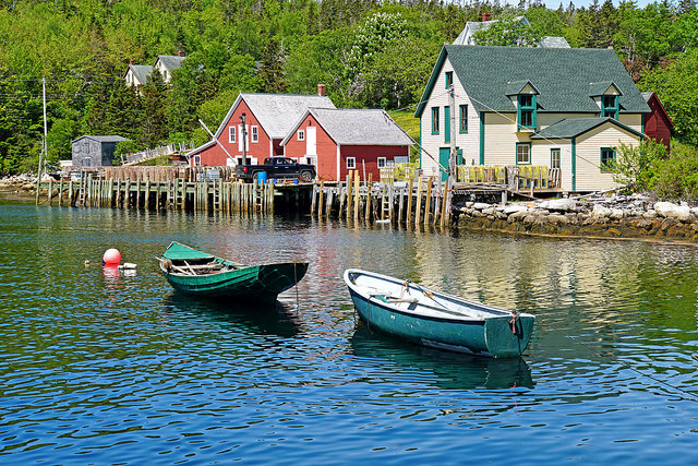 Both Nova Scotia and Brunswick are provinces in Canada that have provided inspiration for writers to write Canadian themed books.