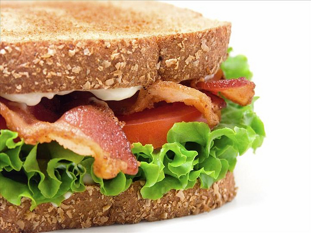 Sandwiches and refreshments are often provided during flight delays or if you have missed your connecting flight