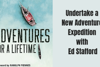 Adventures for a lifetime is the latest book by Ed Stafford adventure traveller and leader of adventure expeditions all across the world. Probably best known for walking the Amazon from source to sea.