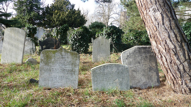 Old Brompton Cemetery in London home to several authors and writers gravesites.