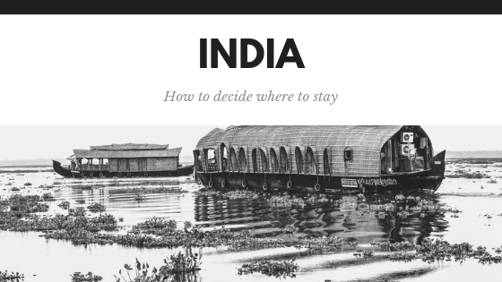 India: how to decide where to stay in this vibrant country. Whether you are after a hostel or pure luxury there is something for everyone. Via @tbookjunkie