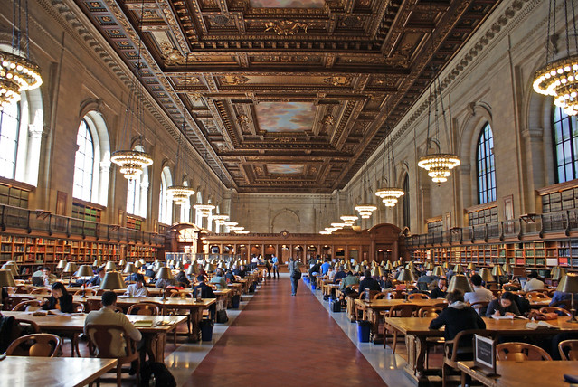 New York Public Library open to everyone who visits the city.