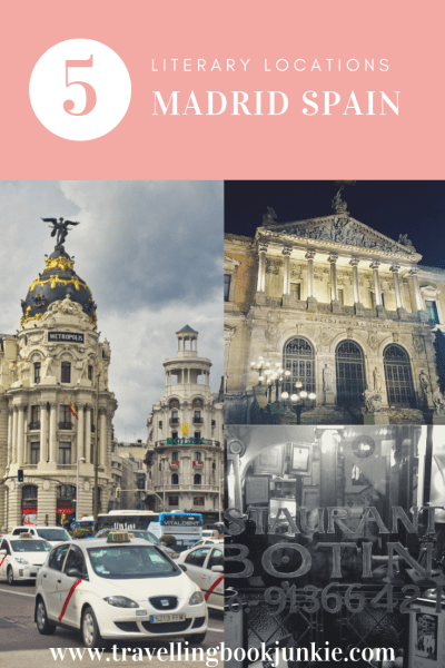 5 literary locations in Madrid Spain that all bookworms must visit via @tbookjunkie