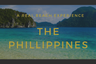 A real beach experience, the Phillippines @t_bookjunkie