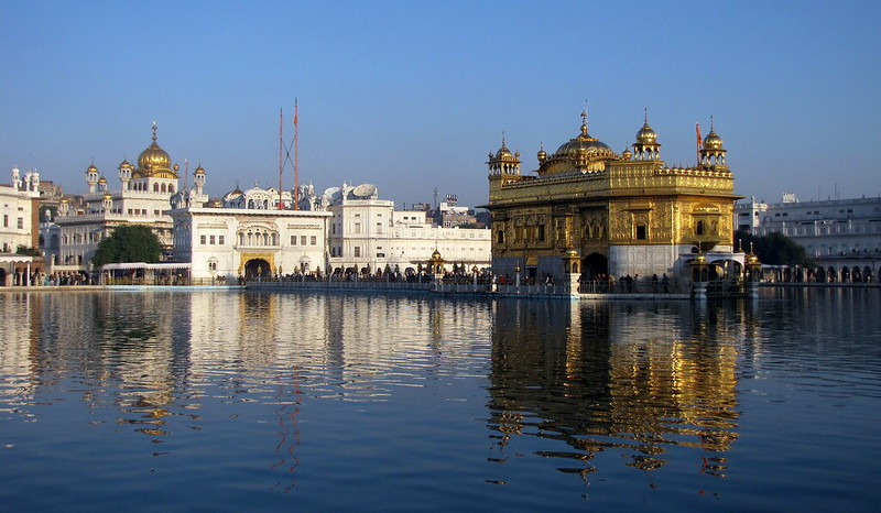 Amritsar, the Sikh pilgrimage site in India
