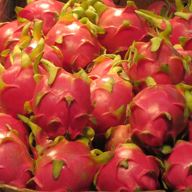 dragon fruit found especially in Asia