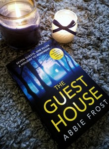 The Guest House by Abbie Frost crime writer and fictional novel reviewer compared to the queen of crime, Agatha Christie