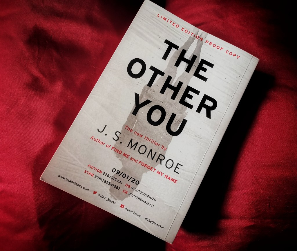 The Other You by J.S. Monroe