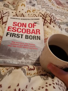 Son of Escobar: First Born by Roberto Sendoya Escobar writes about his claim to being Pablo Escobar's first son.