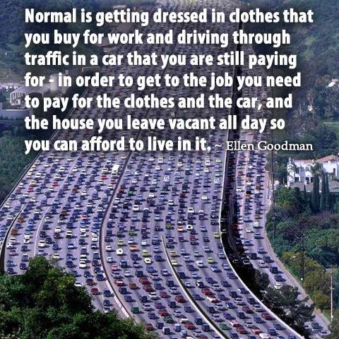 Do you want to be normal?