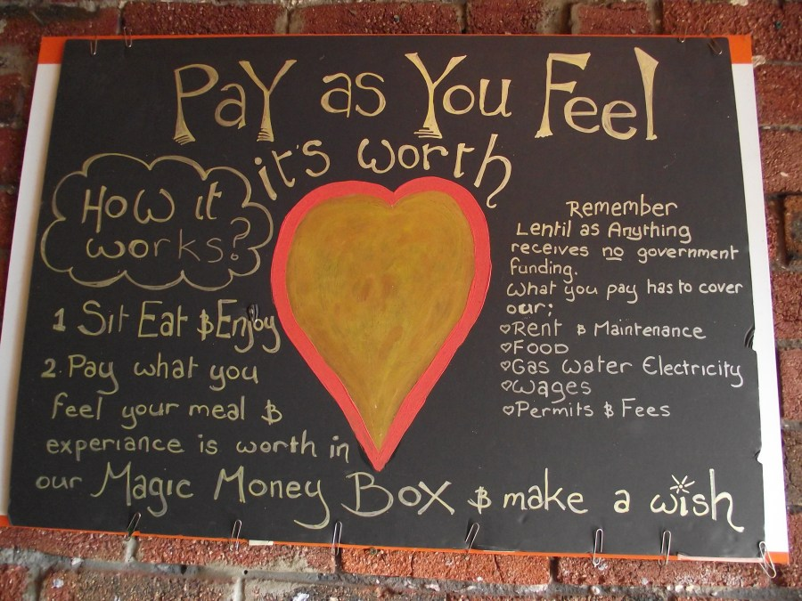 Pay as You Feel