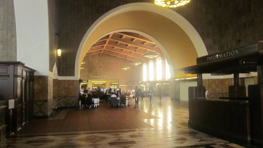 Union Street Station Los Angeles