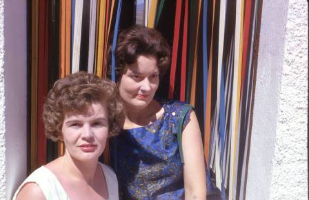 Val and Shirley in the 60 's