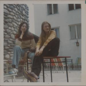 Travelling Coral in Austria 1974