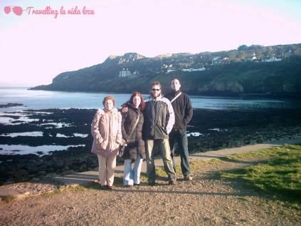 Excursión a Howth durante la visita de mi familia a Dublín - Año 2006
