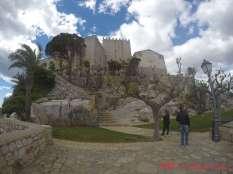 El castillo templario en todo su esplendor
