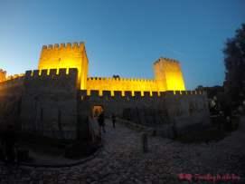 Murallas y torres defensivas del Castelo de San Jorge