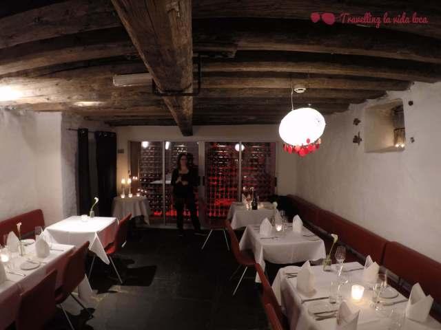 Restaurante del Altona, con esas pedazo de vigas que me encantan