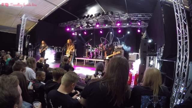 Precioso concierto de Alcest el que vimos