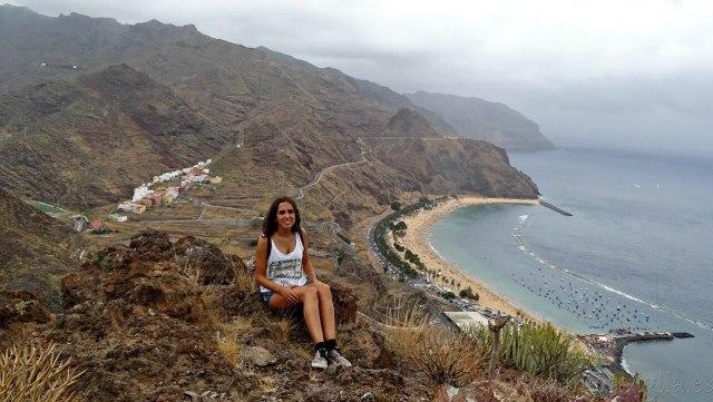 Tenerife, playa de las Teresitas - Meraviglia
