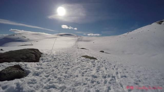 La belleza serena de un paisaje nevado 💙