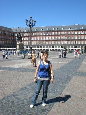 Plaza Mayor - La aventura de mi maleta