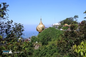 View of the Golden Rock 2
