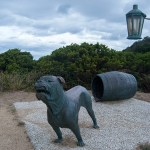The Savage Dog Line at Eaglehawk Neck, Tasmania