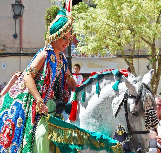 Parade Caravaca de la Cruz Murcia Spain