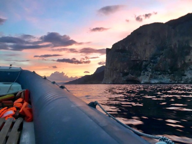 Boat Hire Rescue Golfo di Orosei Sardinia Italy