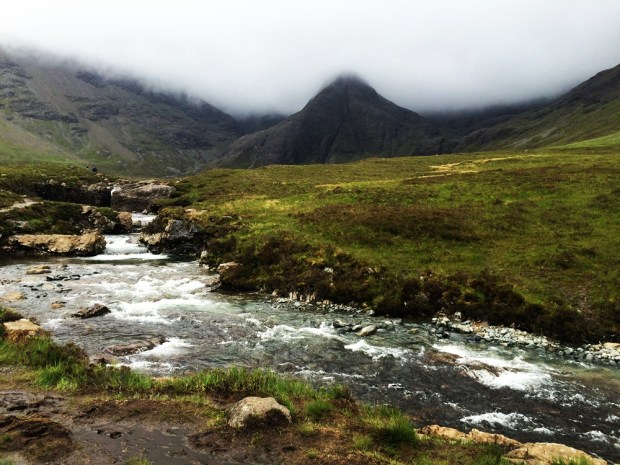 Hiking to the Fairy Pools on the Isle of Skye