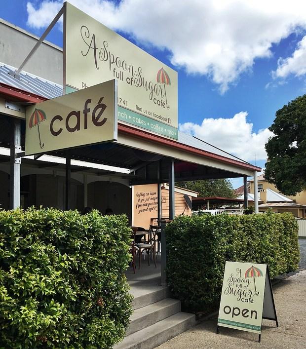 Spoon Full of Sugar Cafe Maryborough Queensland