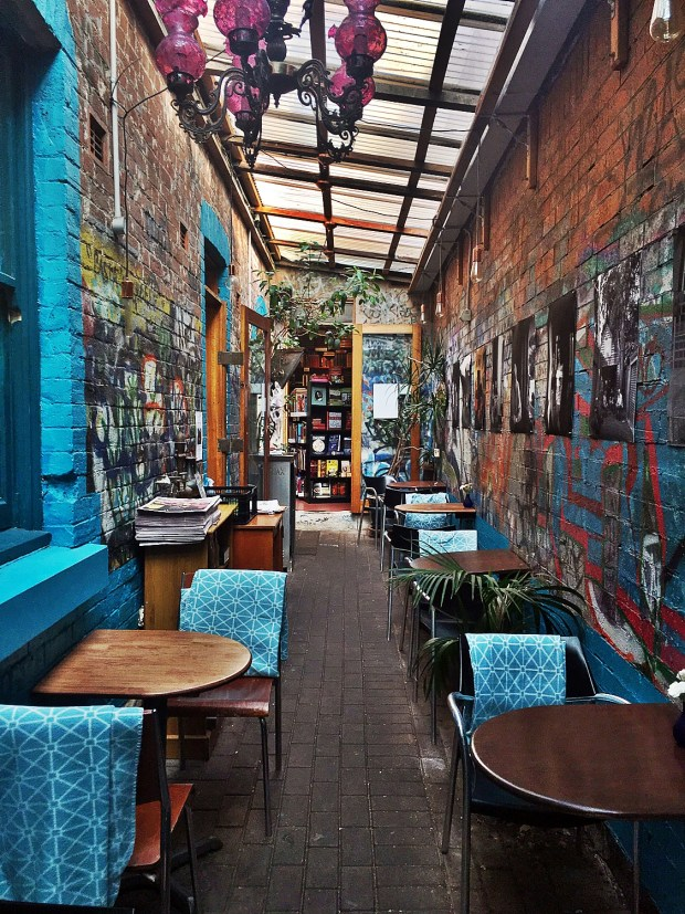 Things to do in Sydney Sappho Books Cafe