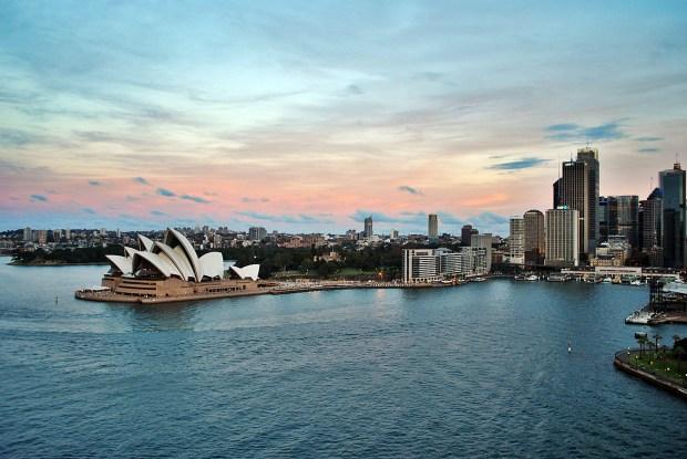 Sydney Harbour Bridge Sydney Opera House Sunset