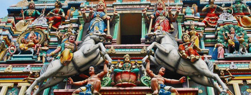 Temple Detail Kuala Lumpur, Malaysia