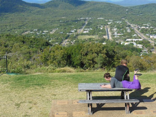 Cooktown aerial o town