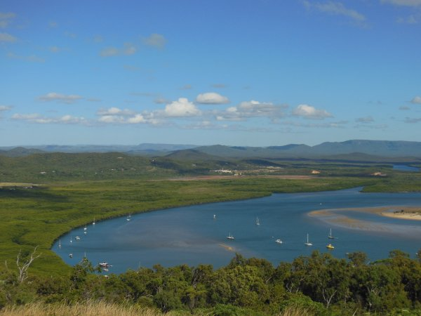 Cooktown view rom lighthouse