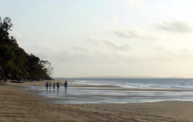 fraser coast family beach